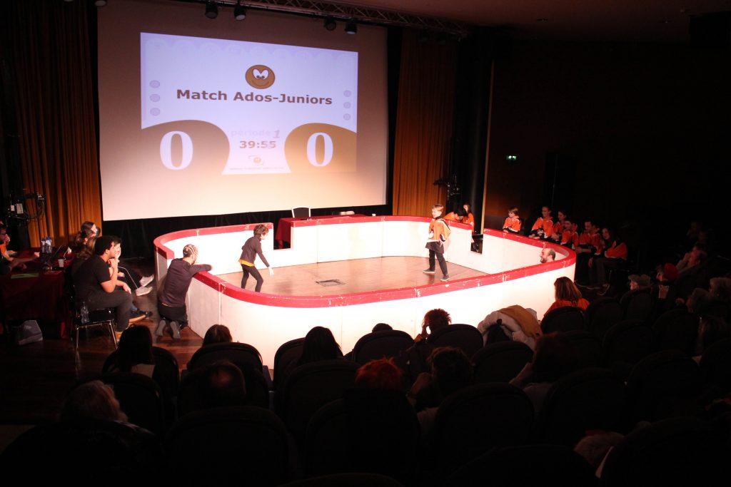 match improvisation enfant Boulogne-Billancourt